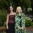 Vicky von der Lancken, Lena Ahlström  au Berns Hotel, à Stockholm le 8 septembre 2014, pour le gala des 15 ans de la World Childhood Foundation.