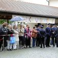 Ambiance aux abords du mariage de la princesse Maria Theresia von Thurn und Taxis et Hugo Wilson, le 13 septembre 2014 en l'église St Joseph à Tutzing, en Bavière (Allemagne).