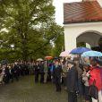 Ambiance - Mariage de Maria Theresia von Thurn und Taxis et Hugo Wilson en l'église St Joseph à Tutzing, le 13 septembre 2014.13/09/2014 - Tutzing