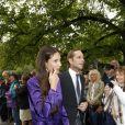 Andrea Casiraghi et sa femme Tatiana Santo Domingo  au mariage de la princesse Maria Theresia von Thurn und Taxis et Hugo Wilson, le 13 septembre 2014 en l'église St Joseph à Tutzing, en Bavière (Allemagne).