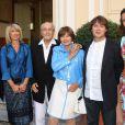 Exclusif - Mariage civil de Macha Méril et Michel Legrand à la mairie de Monaco, le 16 septembre 2014.