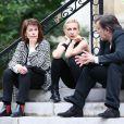 Claire Nadeau et Natalie Dessay - Mariage religieux de Michel Legrand et Macha Méril à la cathédrale Saint-Alexandre-Nevsky dans le 17e arrondissement de Paris, le 18 septembre 2014.