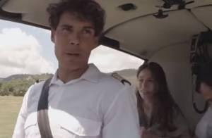 Rafael Nadal en pilote d'hélicoptère : La grosse frayeur des passagers...
