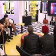 Les habitants donnent leur avis sur Jessica  dans la quotidienne de Secret 8 – demi-finale – le vendredi 19 septembre 2014, sur TF1