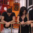 Nathalie et Vivian  dans l'hebdo de Secret Story 8 – demi-finale – le vendredi 19 septembre 2014, sur TF1