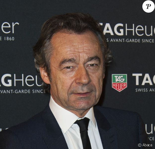 Michel Denisot attending the party for the opening of Tag- Heuer new boutique celebrating Carerra 50th anniversary held at the Pavillon Vendome in Paris, France, on November 6, 2013. Photo by Nicolas Genin/ABACAPRESS.COM00/00/0000 -