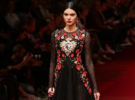 Fashion Week : Kendall Jenner, jeune beauté parmi les super top models à Milan