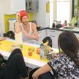 Geoffrey dit tout ce qu'il pense de Jessica, en face d'elle. Secret Story 8 sur TF1, septembre 2014.