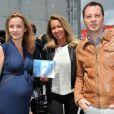 Exclu - Eléonore de Galard, Nicole Coullier et Roberto Ciurleo, lors de la dernière de Robin des Bois, le 29 juin 2014 à Orléans.