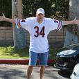 Exclusif - Ashton Kutcher contrarié par les paparazzi à Los Angeles, le 31 août 2014.