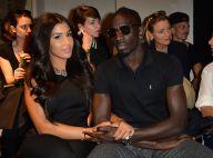 Fashion Week : Mamadou Sakho et sa femme Majda, couple amoureux chez Barbara Bui