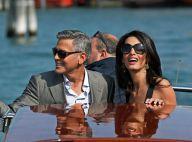 Mariage de George Clooney et Amal : Les superbes amoureux débarquent à Venise