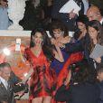 Amal Alamuddin a fêté son enterrement de vie de jeune fille à Venise le 26 septembre 2014, avant d'épouser George Clooney.