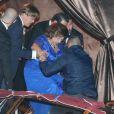 Guest - Les invités quittent l'hôtel Aman Canal Grande où a eu lieu le mariage de George Clooney et Amal Alamuddin à Venise, le 27 septembre 2014.  Guests seen departing the Aman Canal Grande Hotel after attending the wedding of George Clooney and Amal Alamuddin in Venice, Italy on September 27, 2014.27/09/2014 - Venise
