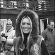Brigitte Bardot aux sports d'hiver (photo d'archive non datée)