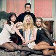 Anny Duperey, Brigitte Bardot et Maurine Ronet (photo d'archive non datée)