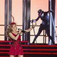 """Kylie Minogue a lancé le """"Kiss Me Once Tour"""" à Liverpool, le 24 septembre 2014."""