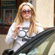 Exclusif - Amanda Bynes et son père Rick sont allés faire des courses chez Albertson à Thousand Oaks. Le 2 mars 2014