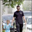 Christian Bale et sa fille Emmeline