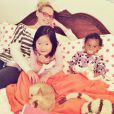 Katherine Heigl et ses filles, le 30 septembre 2014