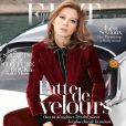 Léa Seydoux en couverture de The Edit le magazine en ligne de Net-a-porter.com (octobre 2014)