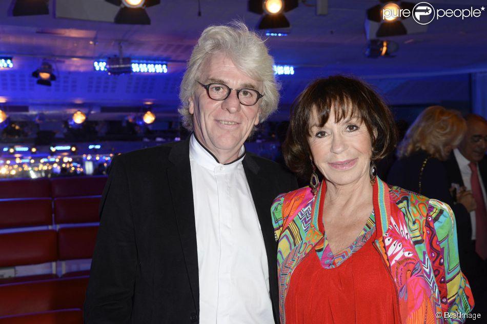 Exclusif - Danièle Evenou et son nouveau compagnon Jean-Pierre Baiesi à Paris, le 28 septembre 2014.