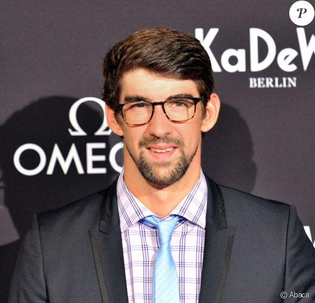 Michael Phelps à Berlin, le 4 juin 2013.