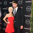 "Michael Phelps et Win McMurry - Cérémonie des ""Espy Awards"" à Los Angeles, le 17 juillet 2013."