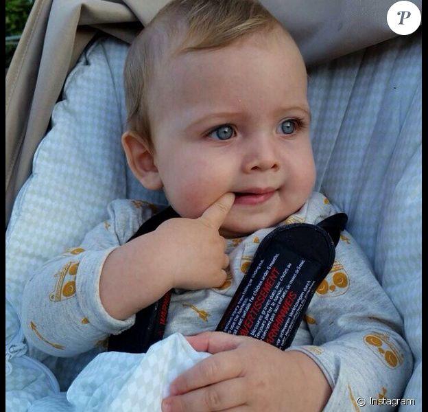 Martin Casillas à l'âge de 9 mois - octobre 2014