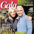 Michel Fugain en couverture du magazine Gala, daté de février 2014.