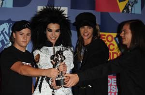 PHOTOS : Tokio Hotel, les Pussycat Dolls et Chris Brown trop fiers de leurs MTV awards !
