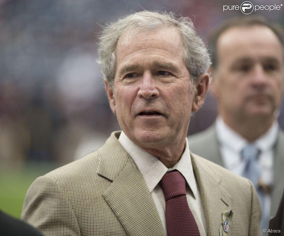 George W. Bush à Houston, le 17 novembre 2013.