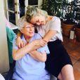 Tallulah Belle Willis et sa grand-mère sur Instagram, en octobre 2014.