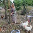 Exclusif - Mylène Demongeot a fêté son 79e anniversaire, entourée de ses amis les plus intimes, à son domicile de Châtelain en Mayenne, les 27 et 28 septembre 2014.