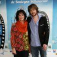 Anny Duperey, Gaël Giraudeau - Festival international du film de Boulogne. Le 24 mars 2012.