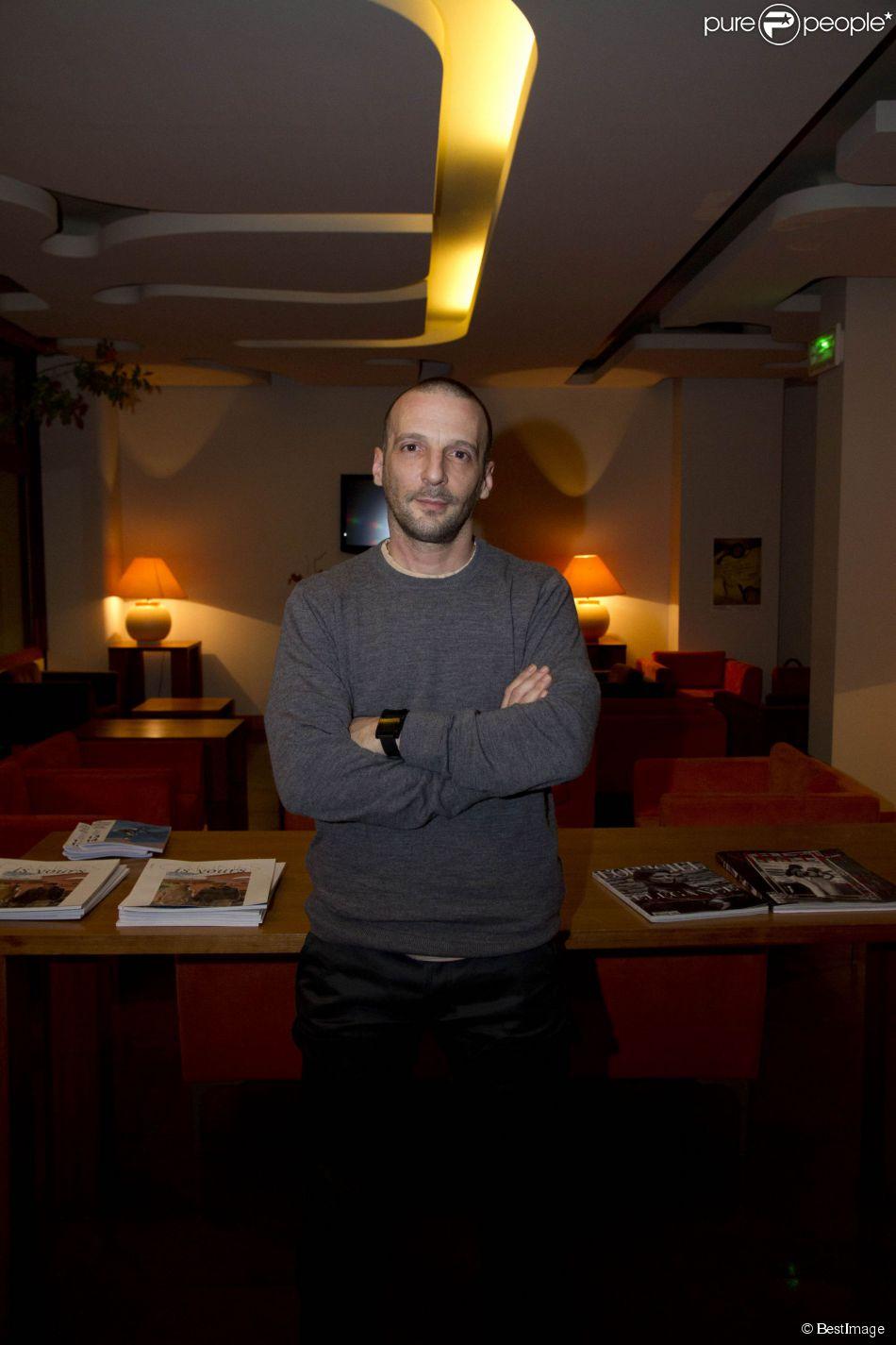 Mathieu Kassovitz - 26e Rencontres cinématographiques de Cannes le 11 décembre 2013.