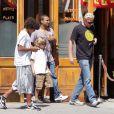 Boris Becker et ses deux fils Noah et Elias