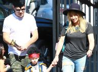 Hilary Duff : Complice avec son ''ex-mari'' pour leur fils Luca, craquant pirate
