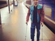 Miguel Angel Munoz (DALS 5), blessé : A béquilles, il doit passer une IRM