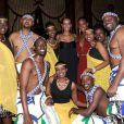 Une troupe d'artistes africains a animé la soirée
