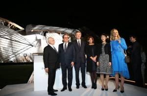 Marion Cotillard et Michelle Williams, anges envoûtés par la Fondation Vuitton