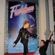 """Tonya Kinzinger et Maxime Dereymez à la générale de la comédie musicale """"Flashdance"""" au théâtre du gymnase à Paris, le 20 octobre 2014"""
