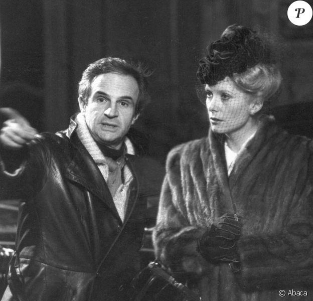 François Truffaut dirigeant Catherine Deneuve dans Le Dernier Métro en 1980