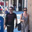 David Arquette et Christina McLarty dans les rues de Los Angeles, le 26 septembre 2014.
