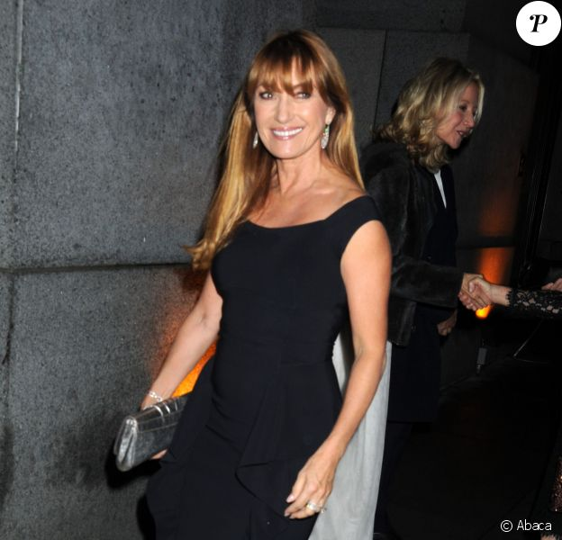 Jane Seymour arrive au Cipriani Wall Street pour assister à la FGI Night of Stars. New York, le 23 octobre 2014.