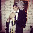 Sandra Graham et son fils Drake lors du dîner d'anniversaire du rappeur. Octobre 2014.