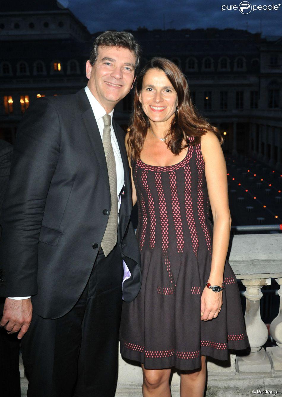 Aurélie Filippetti et Arnaud Montebourg à Paris le 3 octobre 2013.