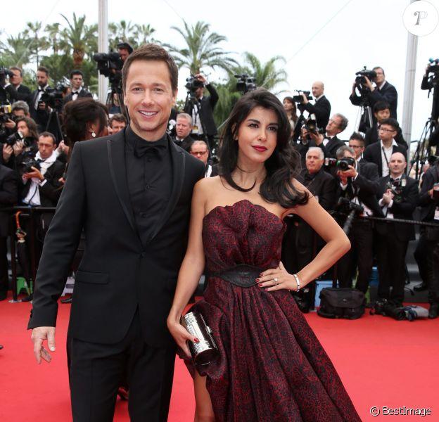 Reem Kherici et Stéphane Rousseau lors du Festival de Cannes 2013