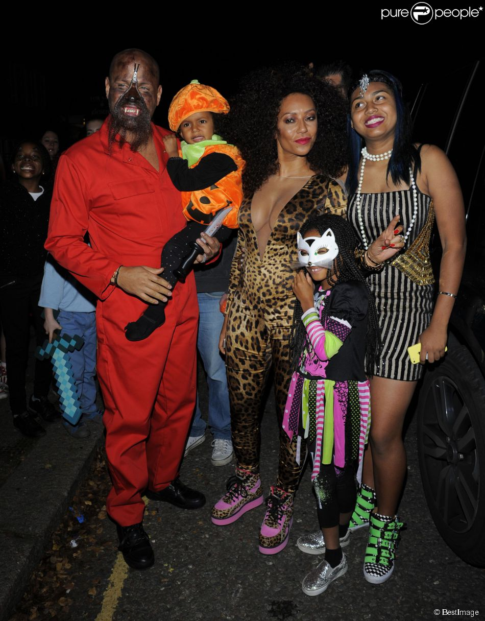 Mel b halloween d jant en famille scary spice est de retour - Halloween en famille ...