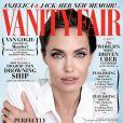Angelina Jolie en couverture du numéro de décembre de Vanity Fair.
